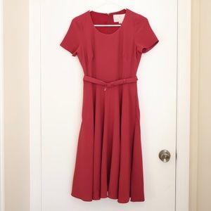 Gal Meets Glam Dress - Morgan Red
